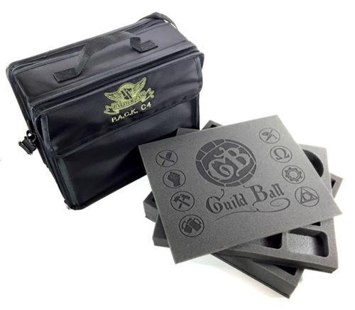 P.A.C.K. C4 Bag 2.0 Guild Ball Load Out (Black)