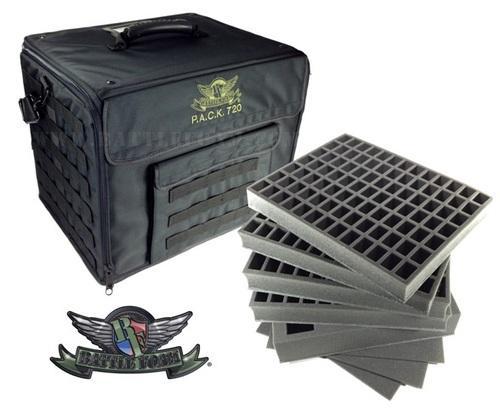 P.A.C.K. 720 Molle Bag Zombicide Load Out (Black)