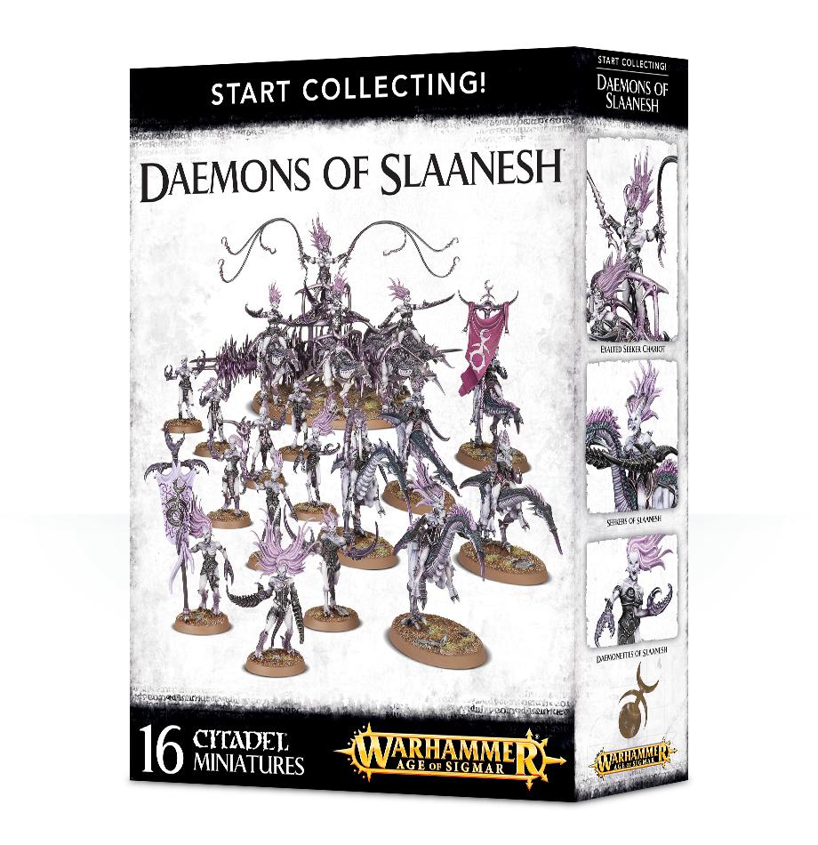 Start Collecting! Daemons Of Slaanesh