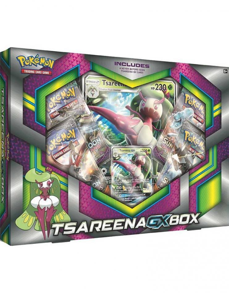 Tsareena-GX Box: Pokemon TCG