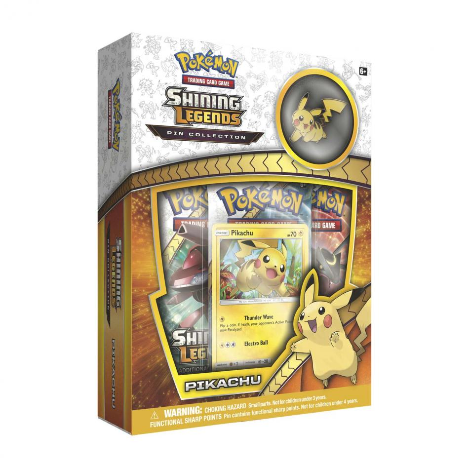 Shining Legends Pin Collection- Pikachu: Pokemon TCG