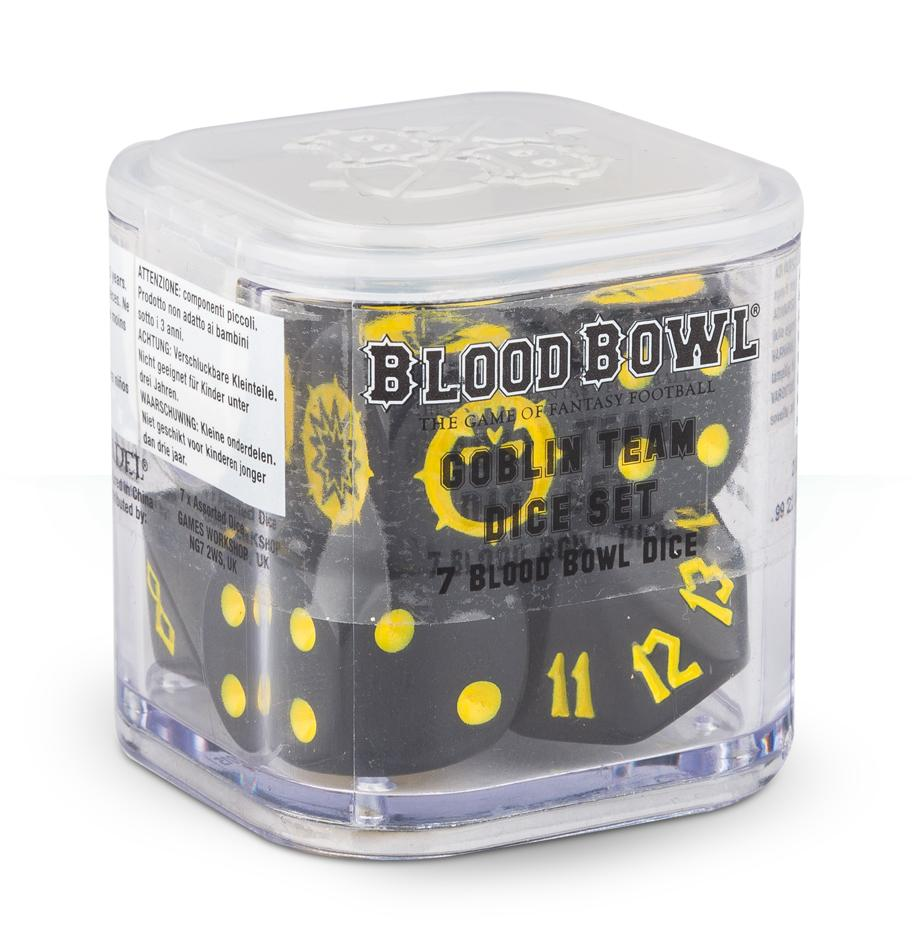 Blood Bowl Goblin Dice