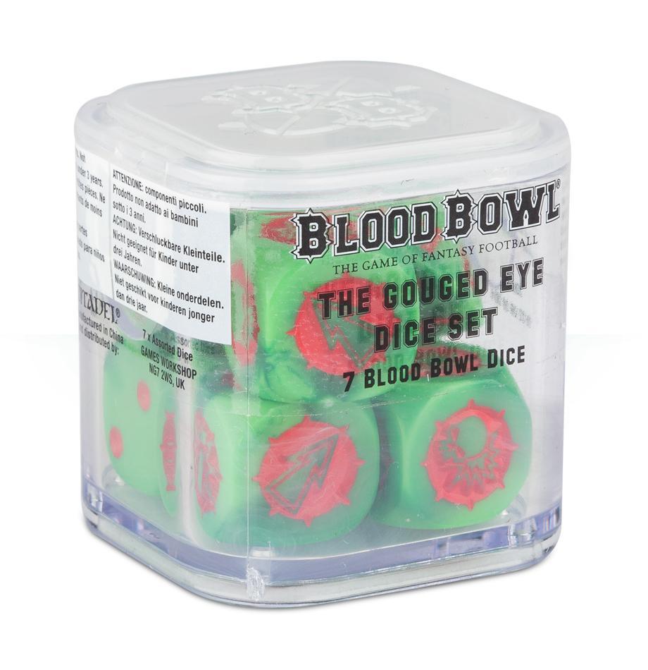 Blood Bowl Orc Dice