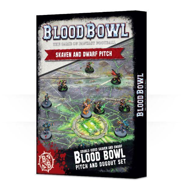 Blood Bowl Skaven & Dwarf Pitch