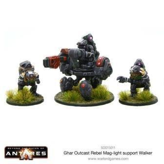 Ghar Rebel Outcast Mag-light support Walker
