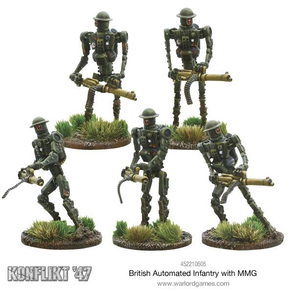 British Automated Infantry with MMG