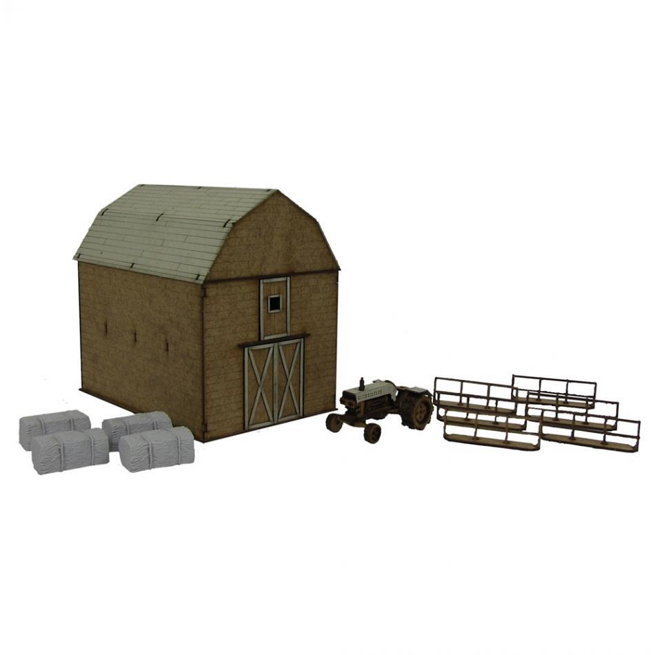Greene Family Farm MDF Scenery Kit