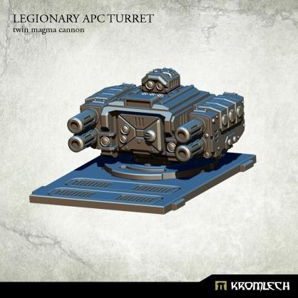 Legionary APC turret: Twin Magma Cannon (1)