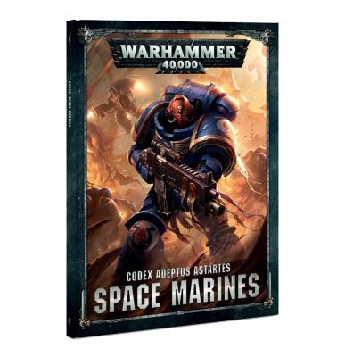 Codex: Space Marines (Hardback) (English)
