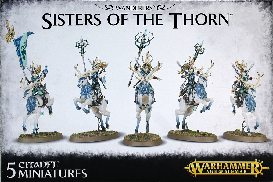 Sisters of the Thorn / Wild Riders