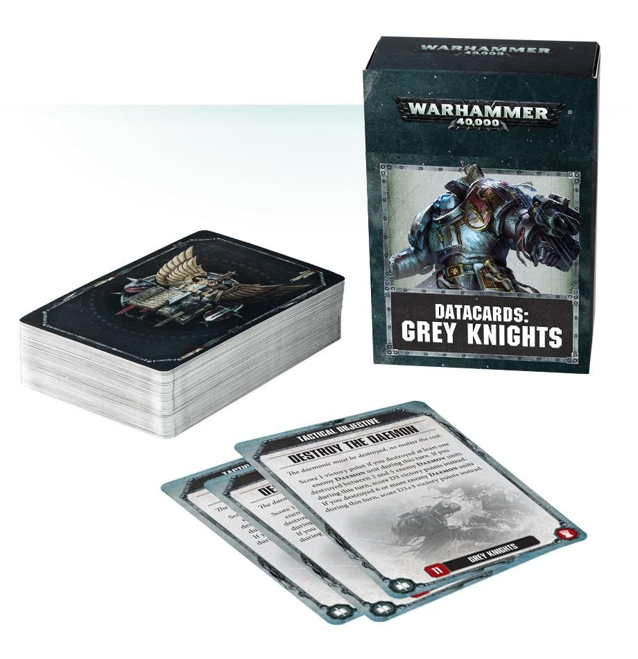 Datacards: Grey Knights (8th Edition) (English)