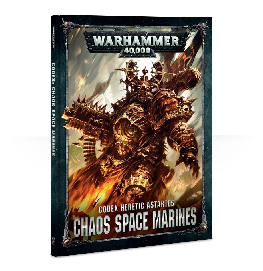 Codex: Chaos Space Marines (Old Edition) (Hardback)