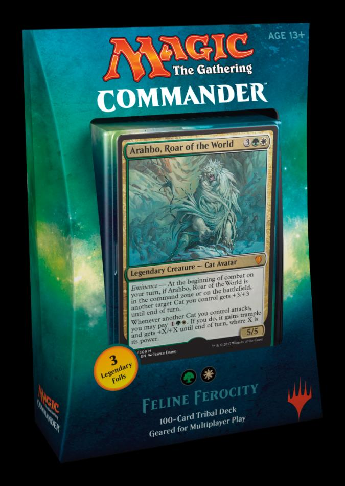 MTG: Commander 2017 - Feline Ferocity (TBC) - New Releases | Element