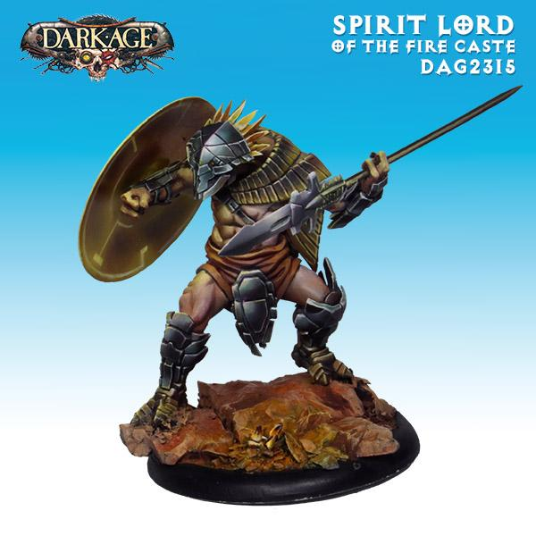 Dragyri Spirit Lord Of The Fire Caste