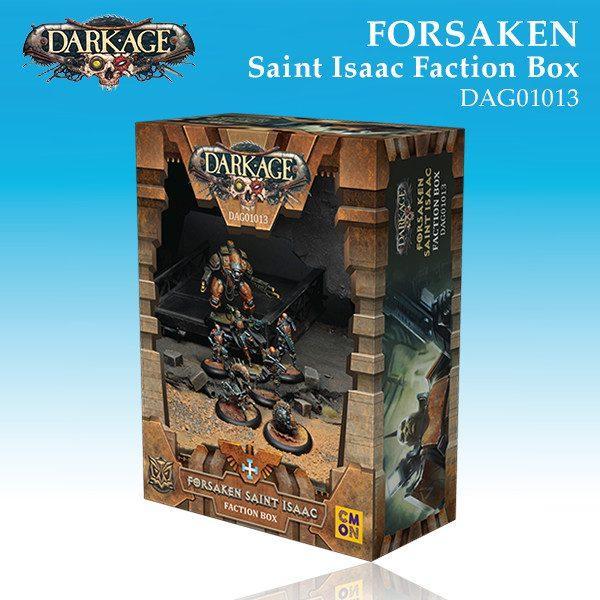 Forsaken Saint Isaac Faction Box