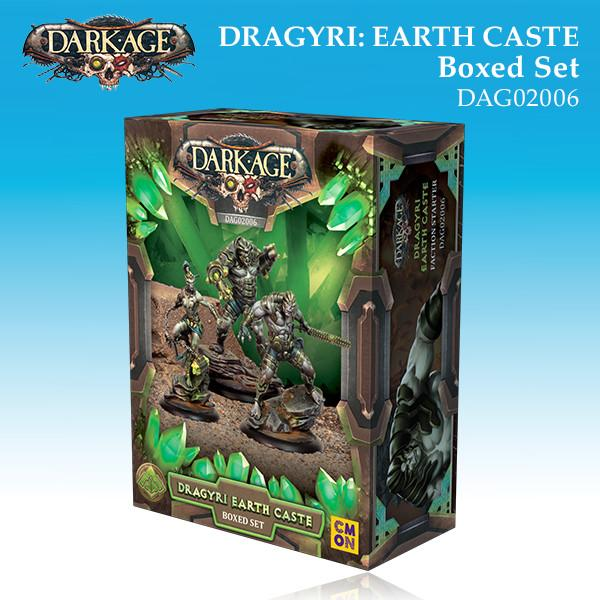 Dragyri Earth Caste Boxed Set