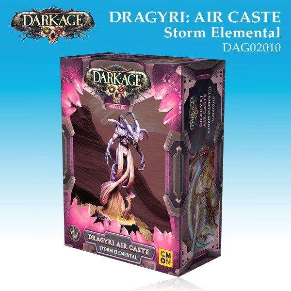 Dragyri Air Caste Storm Elemental Box