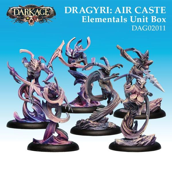 Dragyri Air Caste Elementals Unit Box