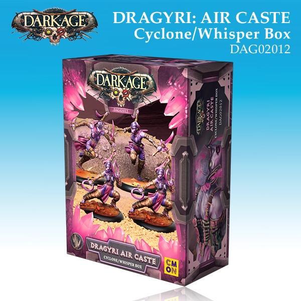 Dragyri Air Caste Cyclone/Whisper Unit Box