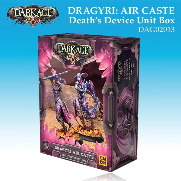 Dragyri Air Caste Death's Device Unit Box
