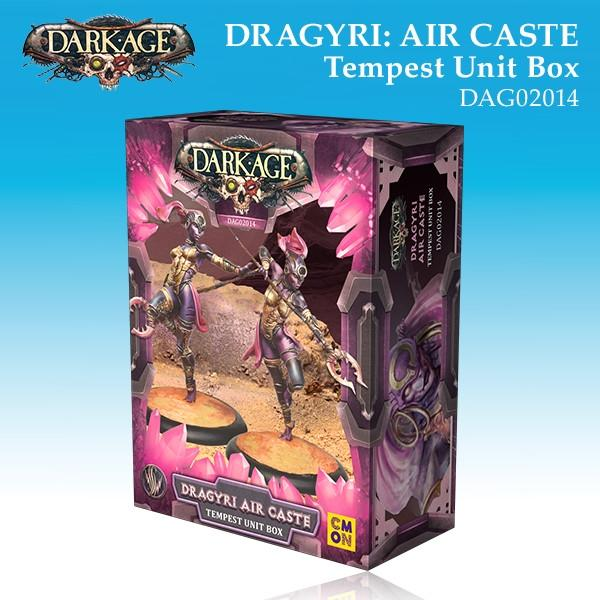 Dragyri Air Caste Tempest Unit Box