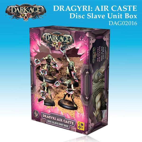 Dragyri Air Caste Disc Slave Unit Box