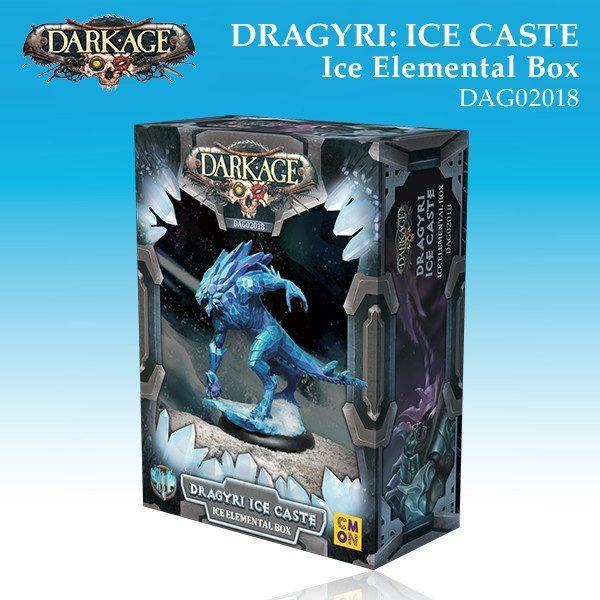 Dragyri Ice Caste Ice Elemental Box