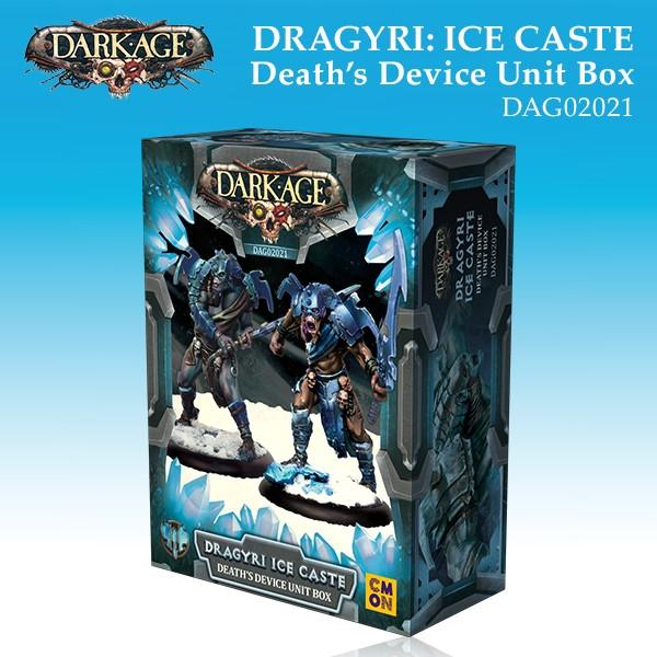 Dragyri Ice Caste Death's Device Unit Box