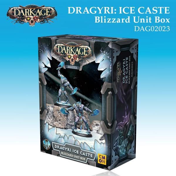 Dragyri Ice Caste Blizzard Unit Box
