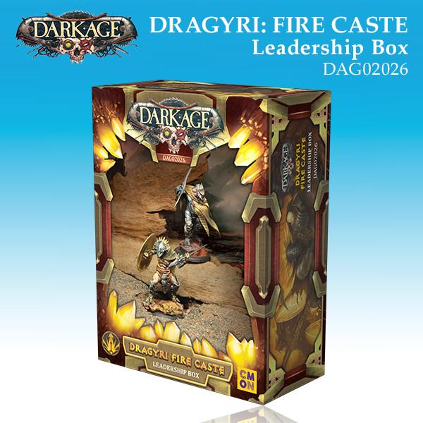 Dragyri Fire Caste Leadership Box
