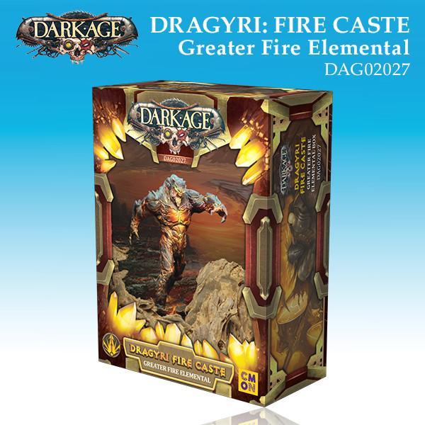 Dragyri Fire Caste Greater Fire Elemental Box