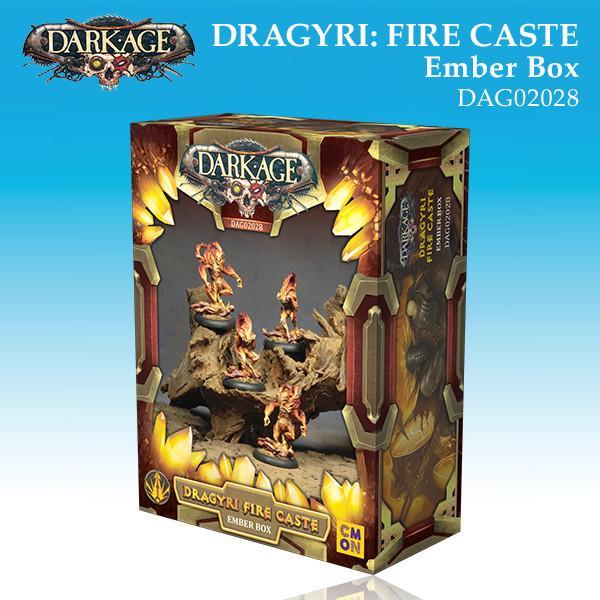Dragyri Fire Caste Ember Unit Box