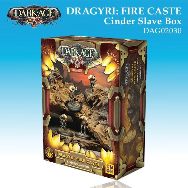 Dragyri Fire Caste Cinder Slaves Unit Box
