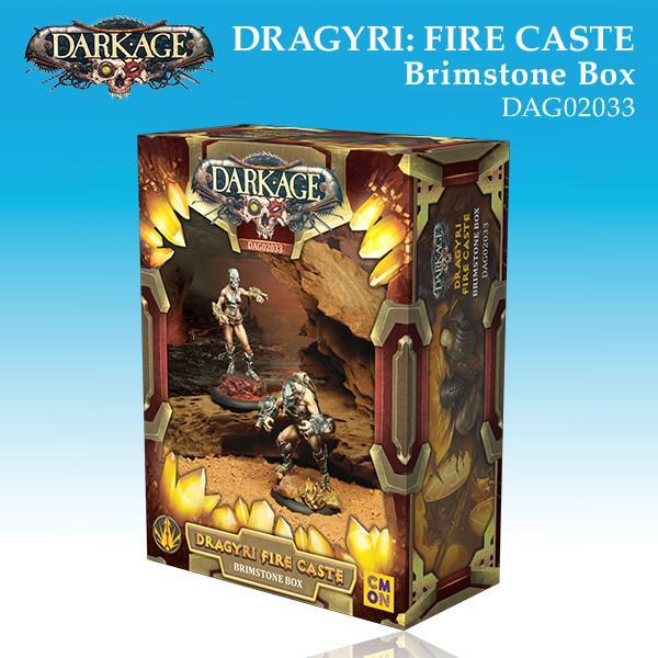 Dragyri Fire Caste Brimstone Unit Box