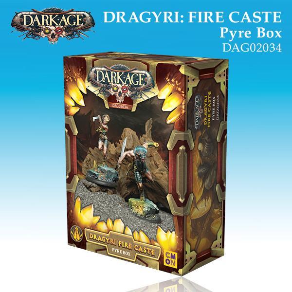Dragyri Fire Caste Pyre Unit Box