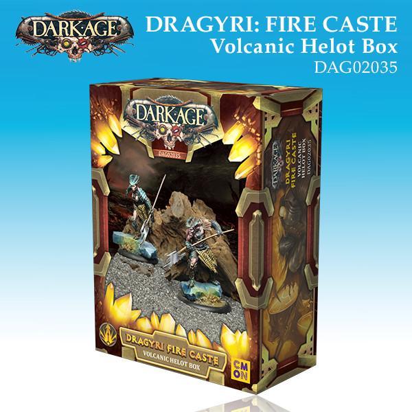 Dragyri Fire Caste Volcanic Helot Unit Box