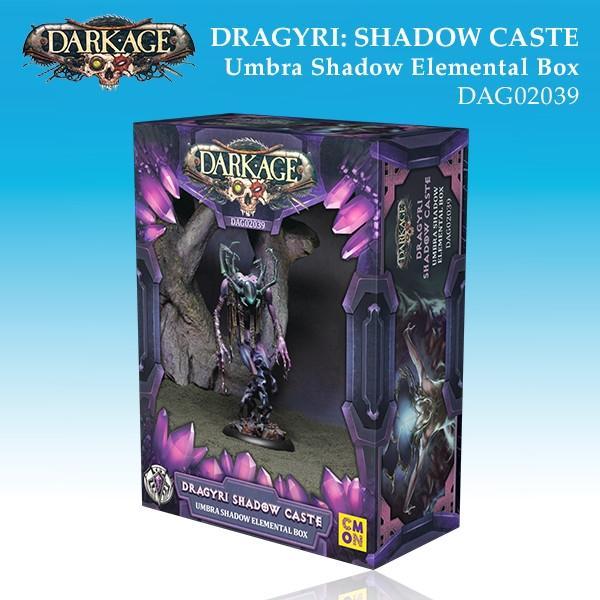 Dragyri Shadow Caste Umbra Shadow Elemental Box