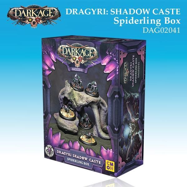 Dragyri Shadow Caste Spiderling Unit Box