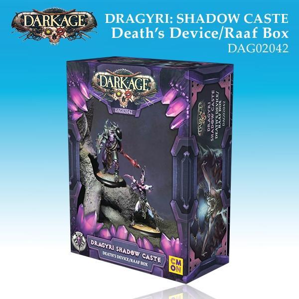 Dragyri Shadow Caste Death's Device/Raaf Unit Box