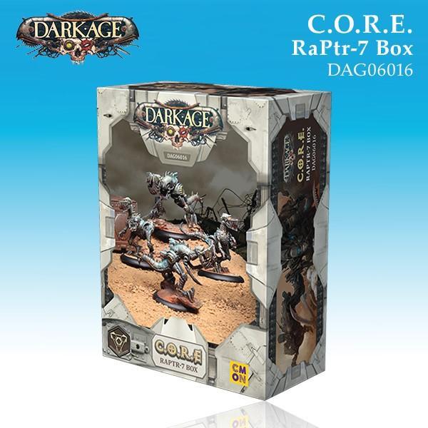 C.O.R.E. RaPtr-7 Unit Box