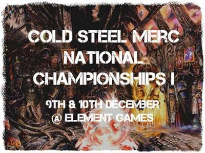 Cold Steel Merc National Champs