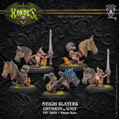 Grymkin Unit Neigh Slayers (5)