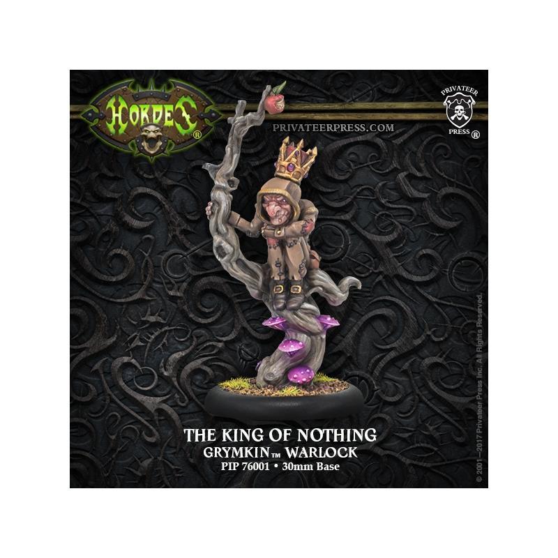 Grymkin Warlock King of Nothing  inc resin