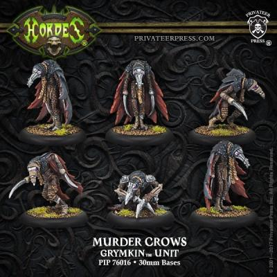 Grymkin Murder Crows (6)  inc resin