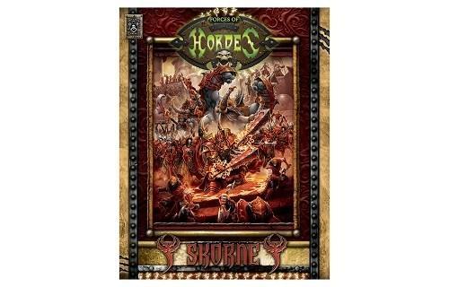 Forces of Hordes Skorne Command hard cover BOOK