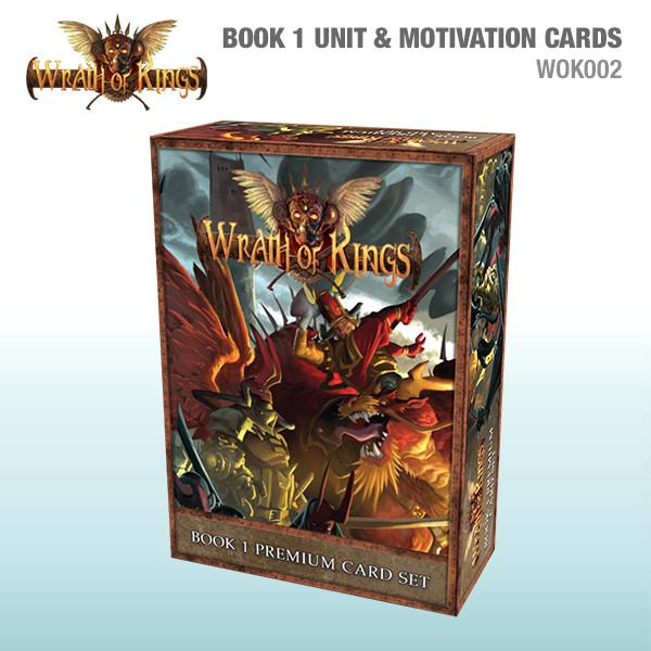Wrath of Kings - Book 1 Unit and Motivation Cards