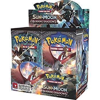 Pokemon TCG - Sun & Moon Burning Shadows Booster Box