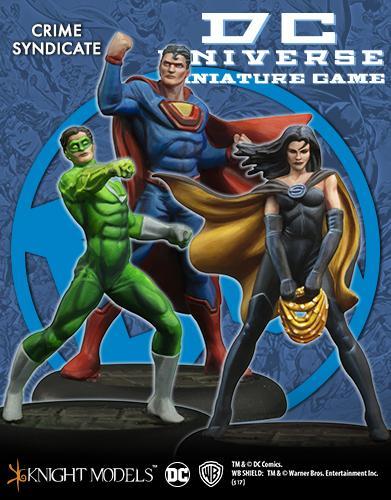 Crime Syndicate (3-Pack) Superwoman, Ultraman, Power Ring