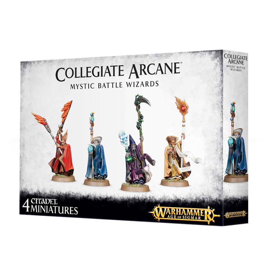 Collegiate Arcana Mystic Battle Wizards