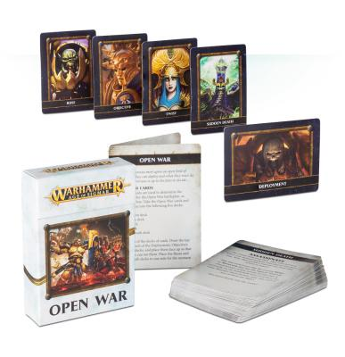 Age Of Sigmar Open War Cards (English)